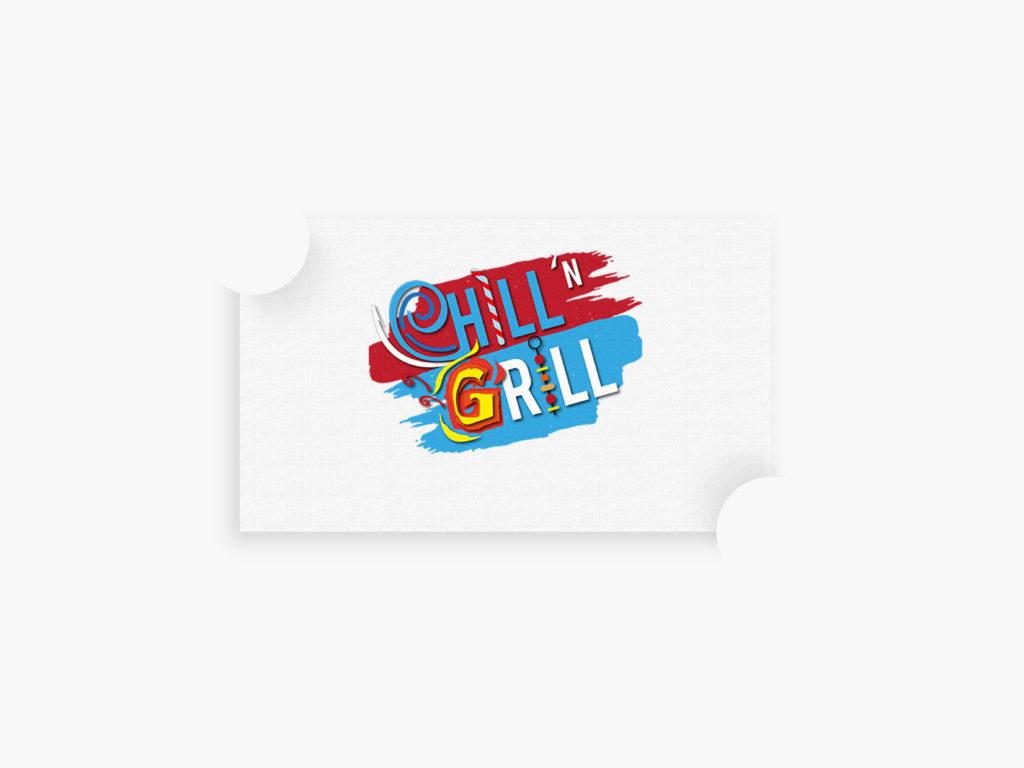 Chill n Grill Branding Portfolio