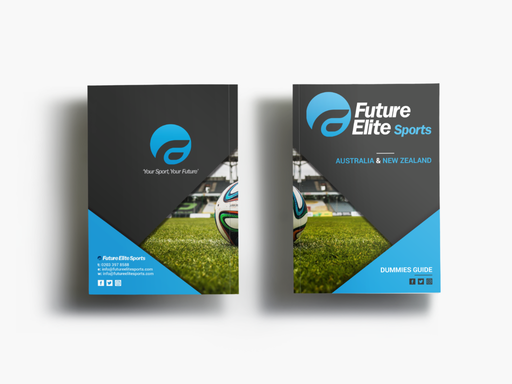 Future Elite Sports Dummies Guide Front and Back Cover