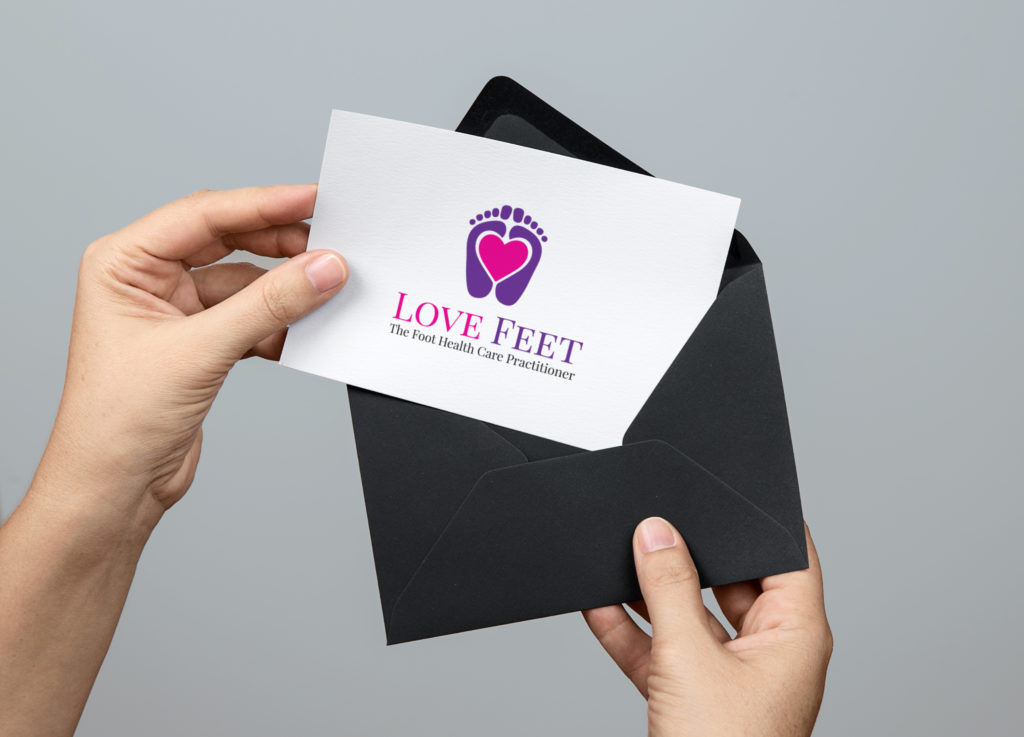 Love Feet Logo Presented