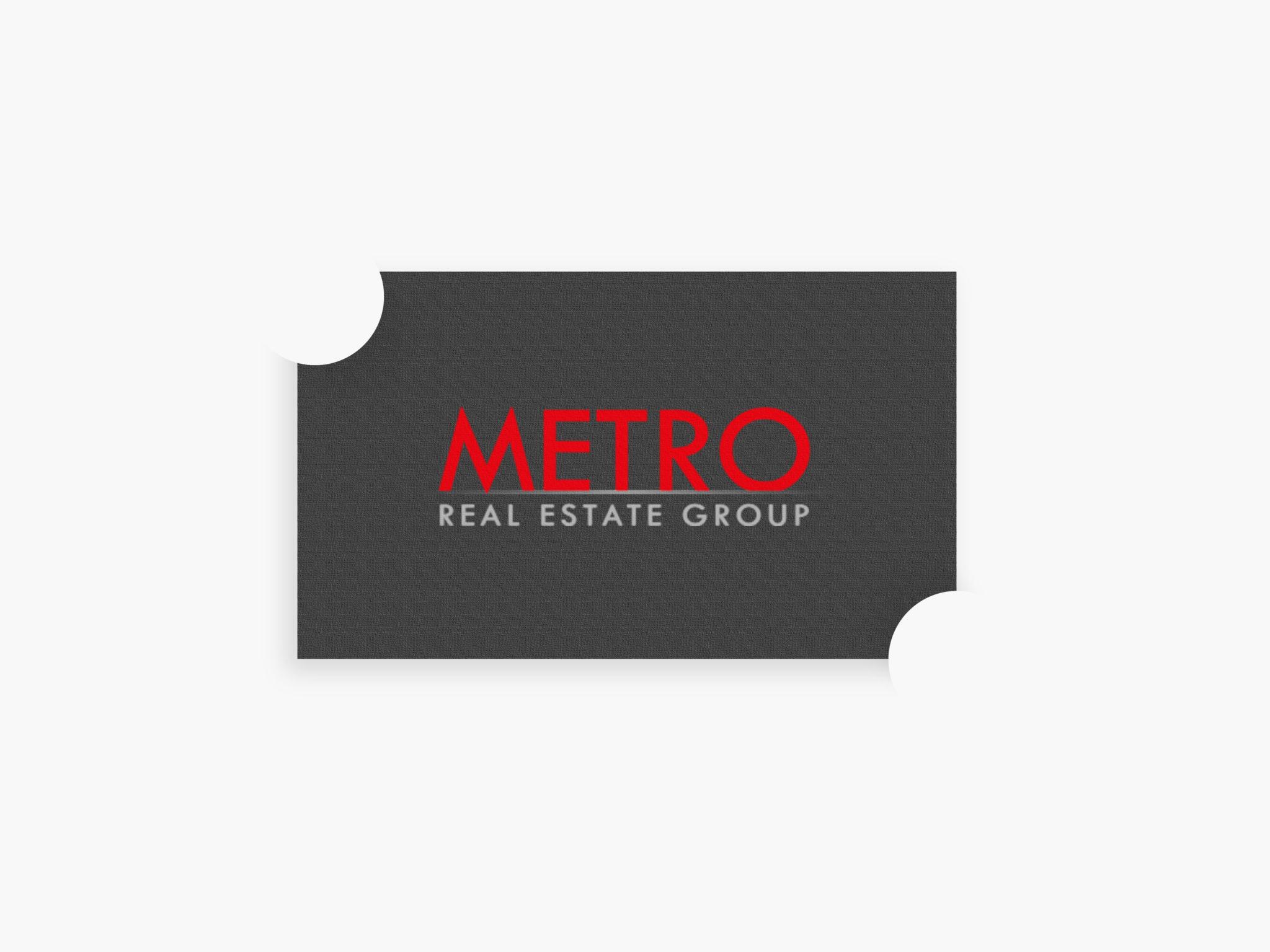 Metro Real Estate Group Logo