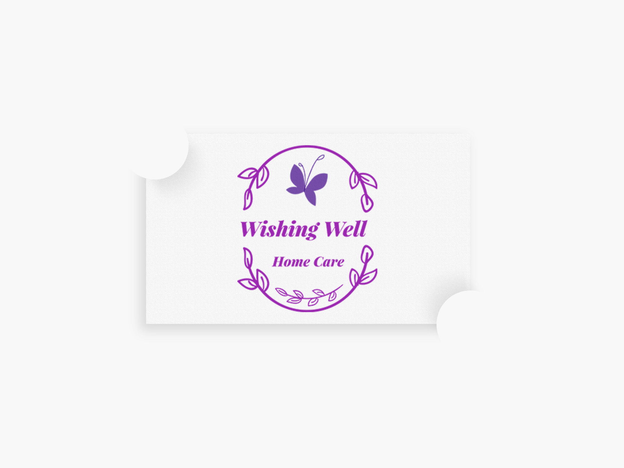 Wishing Well Home Care Logo